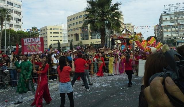 Limasol Karnavalı'ndan renkli görüntüler galerisi resim 3