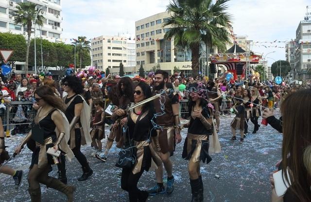 Limasol Karnavalı'ndan renkli görüntüler galerisi resim 5