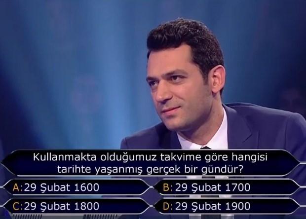 """""""Kim Milyoner Olmak İster"""" yarışmasında tarihi an galerisi resim 3"""