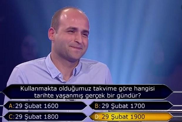 """""""Kim Milyoner Olmak İster"""" yarışmasında tarihi an galerisi resim 5"""