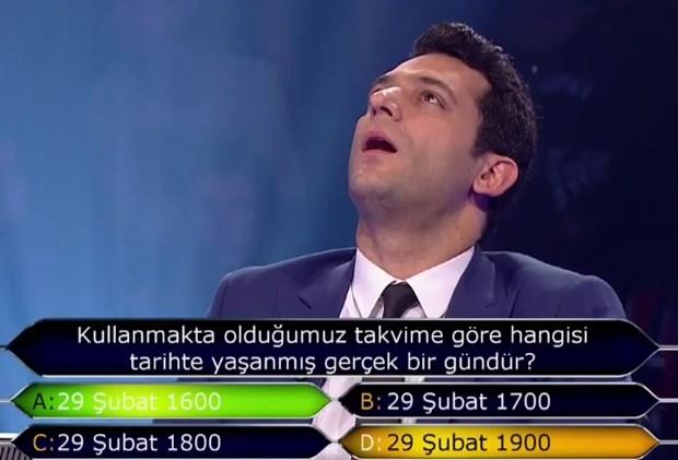 """""""Kim Milyoner Olmak İster"""" yarışmasında tarihi an galerisi resim 8"""