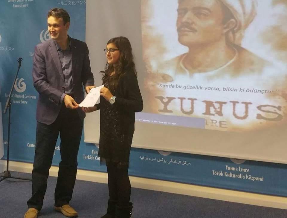 Londra  Türk Dili ve  Kültürü Okulları arasında ilk defa düzenlenen  Şii galerisi resim 8