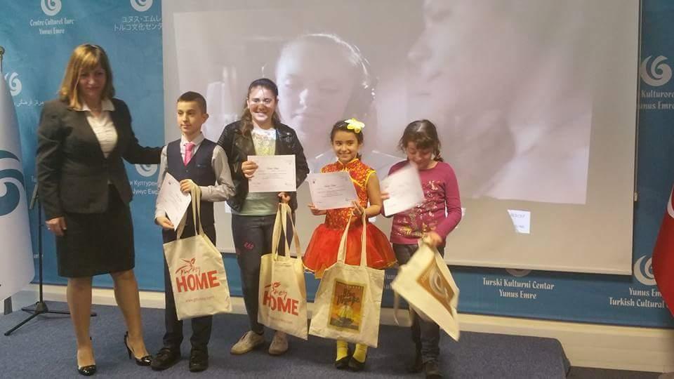 Londra  Türk Dili ve  Kültürü Okulları arasında ilk defa düzenlenen  Şii galerisi resim 9