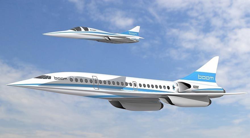Yeni süpersonik yolcu uçağı geliyor galerisi resim 1
