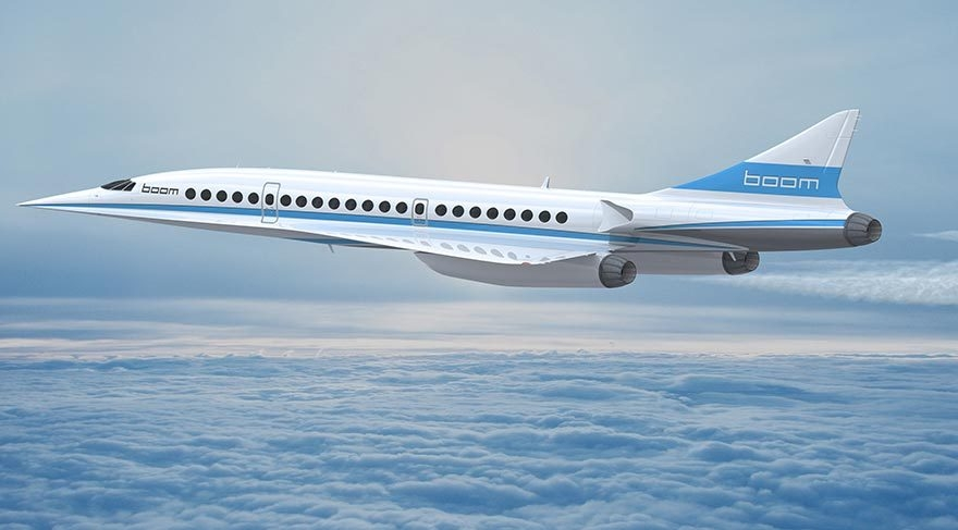 Yeni süpersonik yolcu uçağı geliyor galerisi resim 3