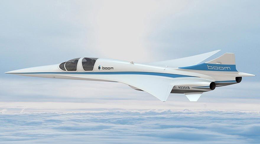 Yeni süpersonik yolcu uçağı geliyor galerisi resim 7