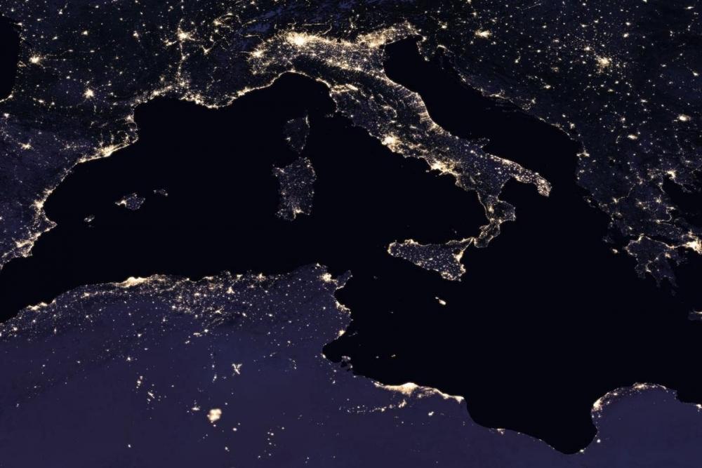 NASA, uzaydan Dünya'nın gece görüntülerini yayınladı galerisi resim 10