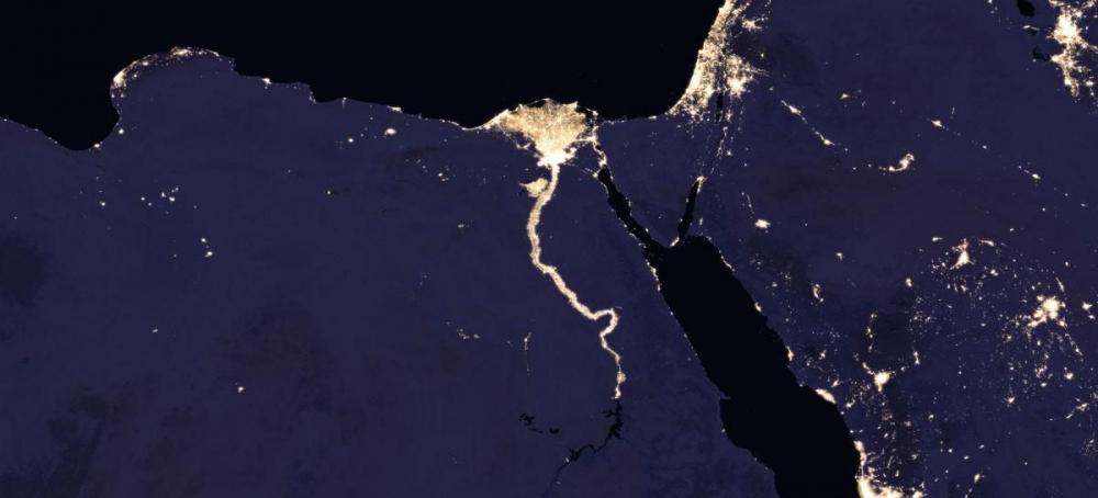 NASA, uzaydan Dünya'nın gece görüntülerini yayınladı galerisi resim 2