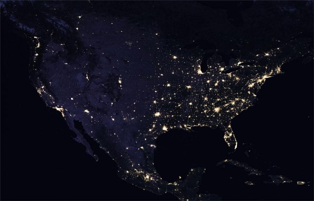 NASA, uzaydan Dünya'nın gece görüntülerini yayınladı galerisi resim 3