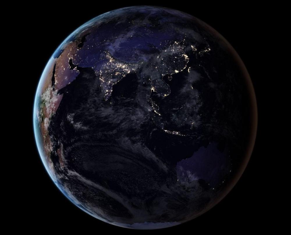 NASA, uzaydan Dünya'nın gece görüntülerini yayınladı galerisi resim 4