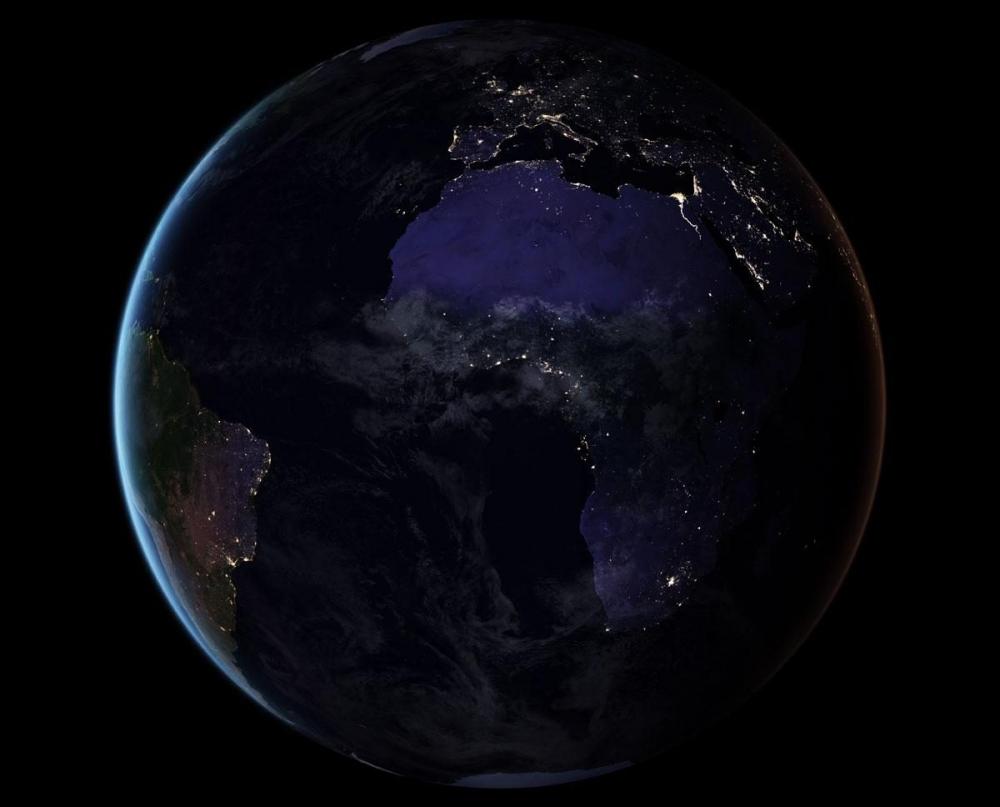 NASA, uzaydan Dünya'nın gece görüntülerini yayınladı galerisi resim 7