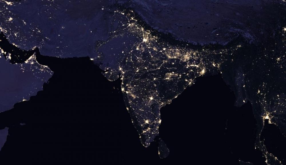 NASA, uzaydan Dünya'nın gece görüntülerini yayınladı galerisi resim 8