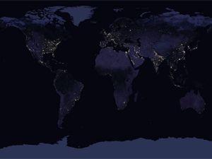 NASA, uzaydan Dünya'nın gece görüntülerini yayınladı