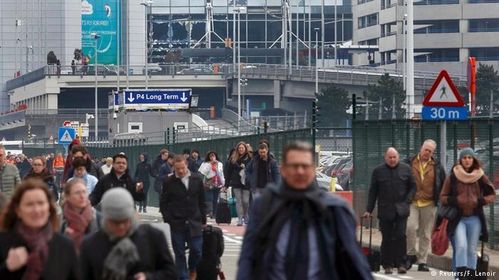 Brüksel'de terör saldırıları! Kare Kare neler yaşandı! galerisi resim 6
