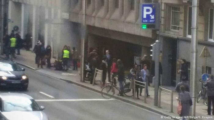 Brüksel'de terör saldırıları! Kare Kare neler yaşandı! galerisi resim 7