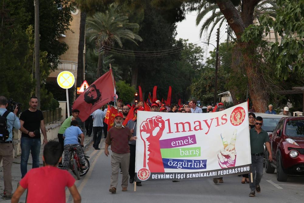"""Çetinkaya'da ortak 1 Mayıs: """"Hade iki toplumlu greve!"""" galerisi resim 10"""