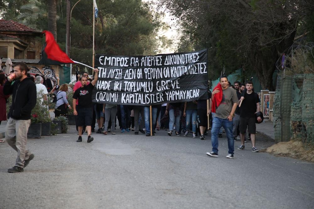"""Çetinkaya'da ortak 1 Mayıs: """"Hade iki toplumlu greve!"""" galerisi resim 11"""