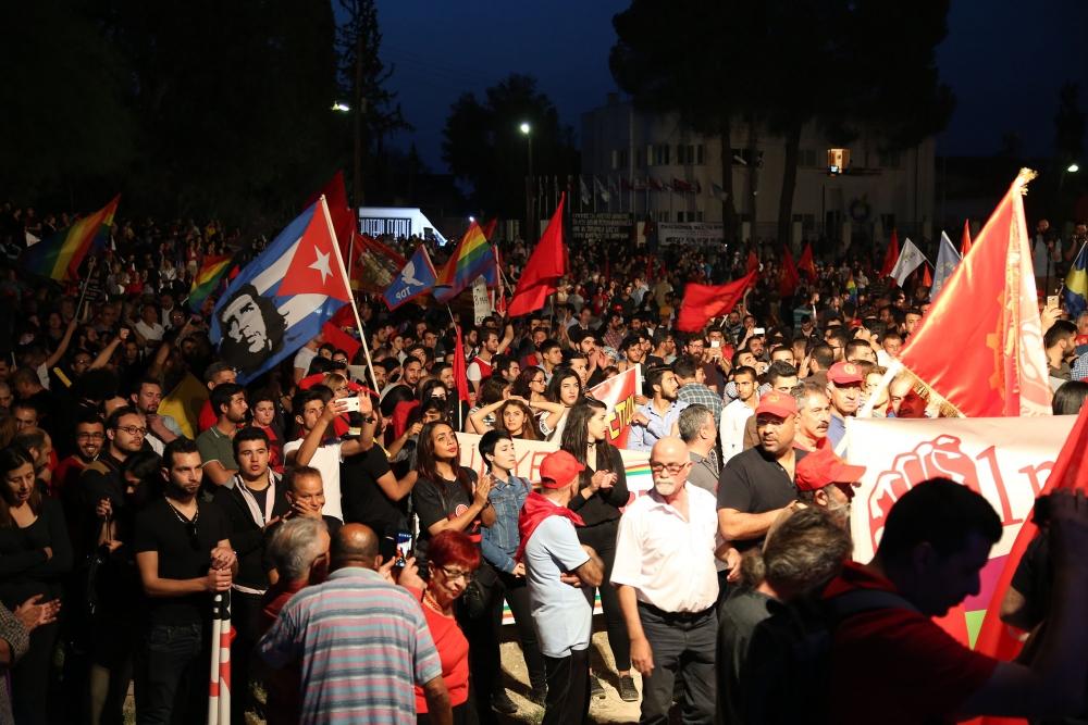"""Çetinkaya'da ortak 1 Mayıs: """"Hade iki toplumlu greve!"""" galerisi resim 8"""