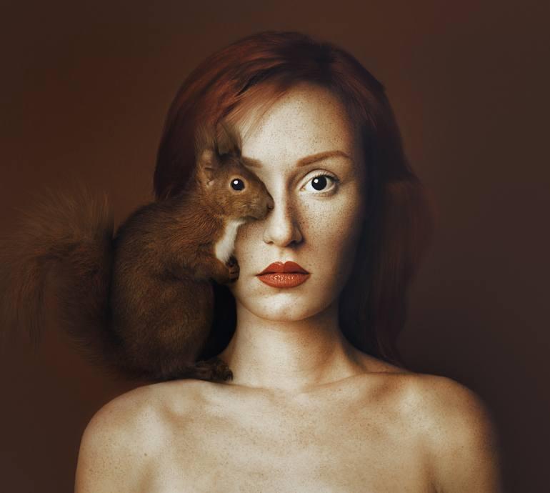 Hayvanlarla bir oldu! galerisi resim 6