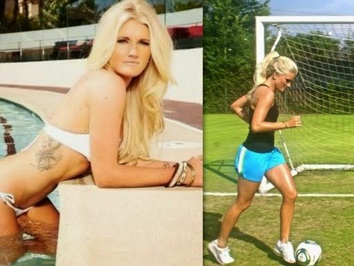 İşte dünyanın en seksi kadın futbolcuları galerisi resim 16