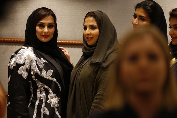 Suudi Arabistan'da ilk Moda Haftası başladı galerisi resim 8