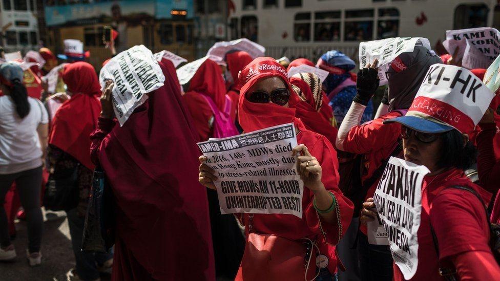 Fotoğraflarla: Dünyada işçiler 1 Mayıs'ı nasıl kutladı? galerisi resim 1