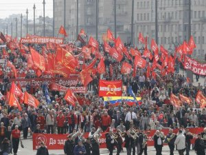 Fotoğraflarla: Dünyada işçiler 1 Mayıs'ı nasıl kutladı?