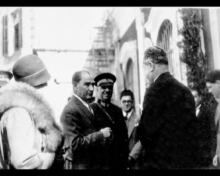 Atatürk'ün bu fotoğraflarını belkide hiç görmediniz galerisi resim 114