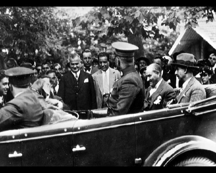 Atatürk'ün bu fotoğraflarını belkide hiç görmediniz galerisi resim 63