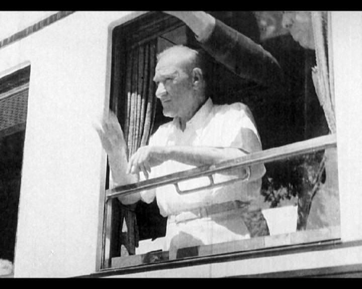 Atatürk'ün bu fotoğraflarını belkide hiç görmediniz galerisi resim 65