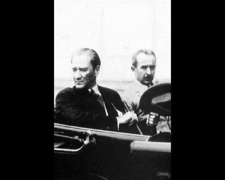 Atatürk'ün bu fotoğraflarını belkide hiç görmediniz galerisi resim 66