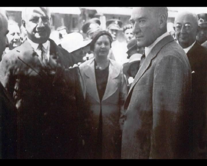 Atatürk'ün bu fotoğraflarını belkide hiç görmediniz galerisi resim 72