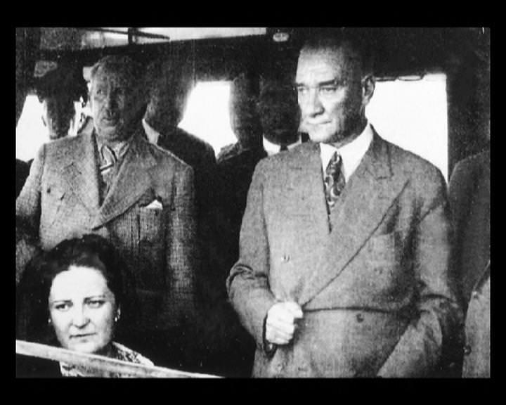Atatürk'ün bu fotoğraflarını belkide hiç görmediniz galerisi resim 75