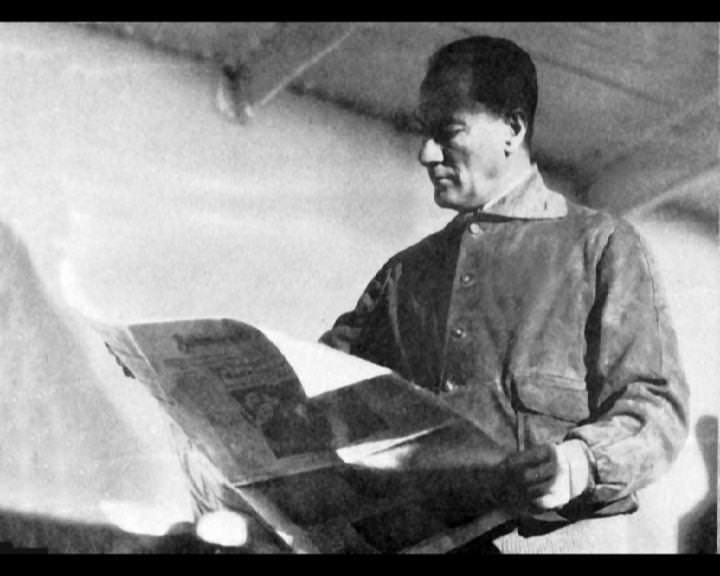 Atatürk'ün bu fotoğraflarını belkide hiç görmediniz... galerisi resim 80