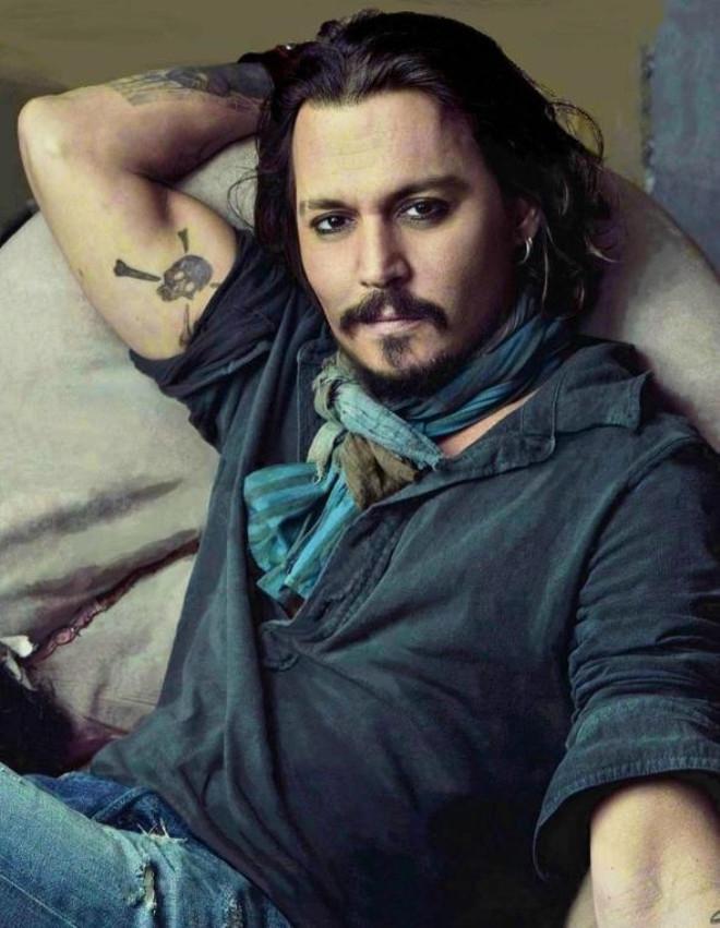 Johnny Depp'in o korkunç görüntüsünün sırrı ortaya çıktı galerisi resim 7