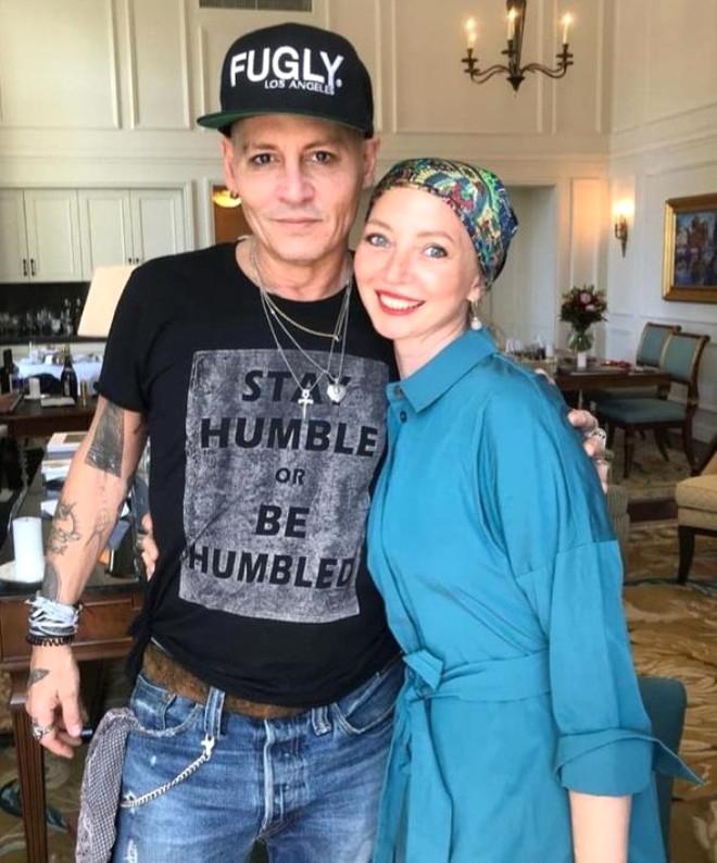 Johnny Depp'in o korkunç görüntüsünün sırrı ortaya çıktı galerisi resim 8
