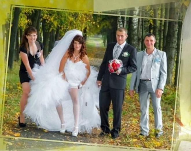 Rus düğünlerinde fotoğraf manyaklıkları galerisi resim 1