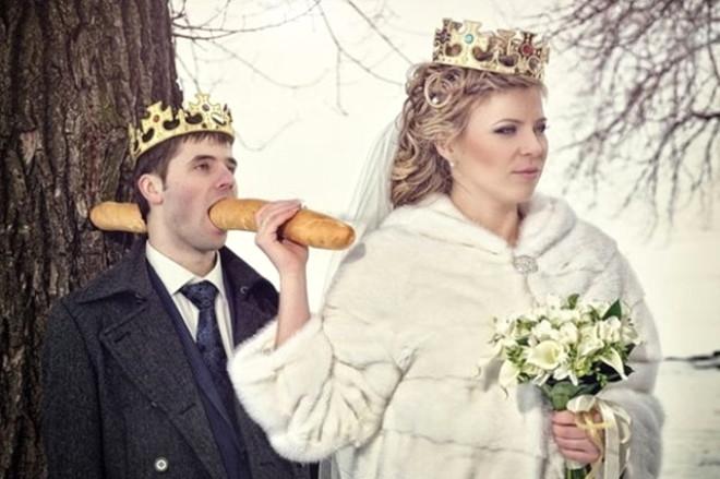 Rus düğünlerinde fotoğraf manyaklıkları galerisi resim 12