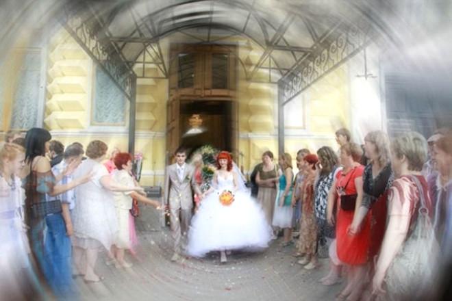 Rus düğünlerinde fotoğraf manyaklıkları galerisi resim 13