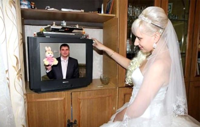 Rus düğünlerinde fotoğraf manyaklıkları galerisi resim 14