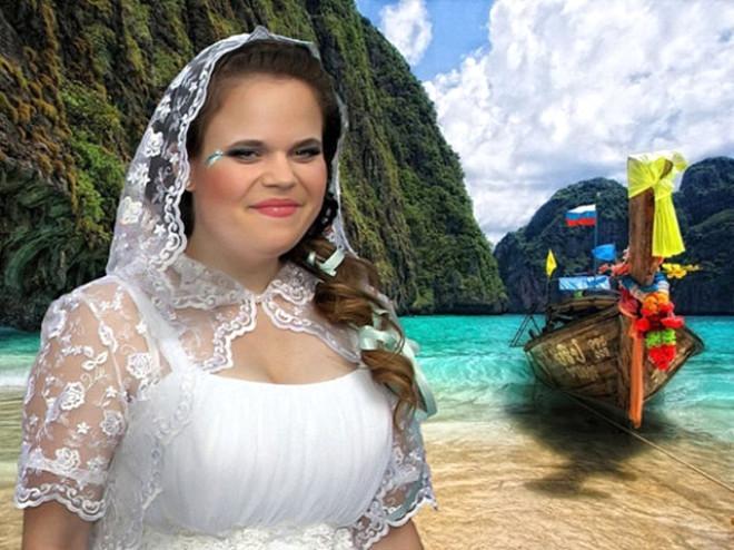 Rus düğünlerinde fotoğraf manyaklıkları galerisi resim 22