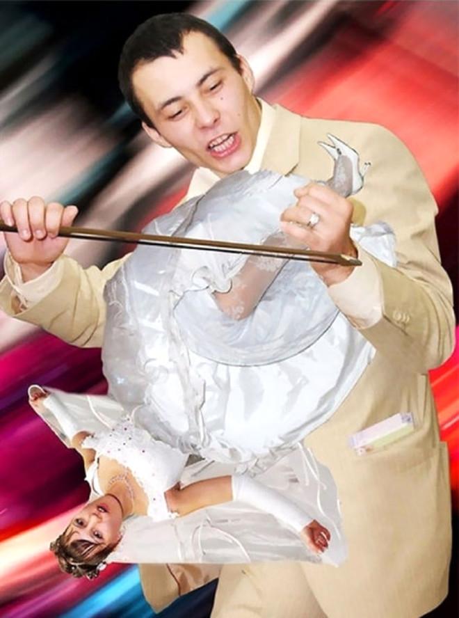 Rus düğünlerinde fotoğraf manyaklıkları galerisi resim 23