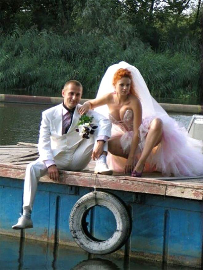 Rus düğünlerinde fotoğraf manyaklıkları galerisi resim 28