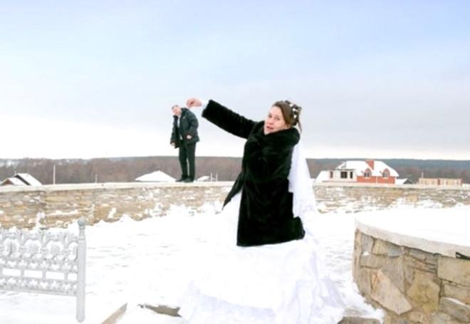 Rus düğünlerinde fotoğraf manyaklıkları galerisi resim 3