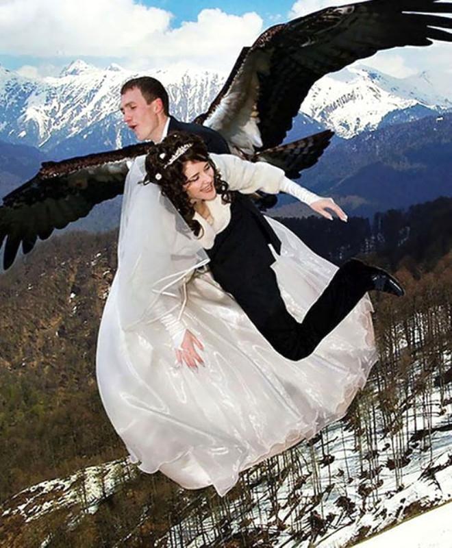 Rus düğünlerinde fotoğraf manyaklıkları galerisi resim 32