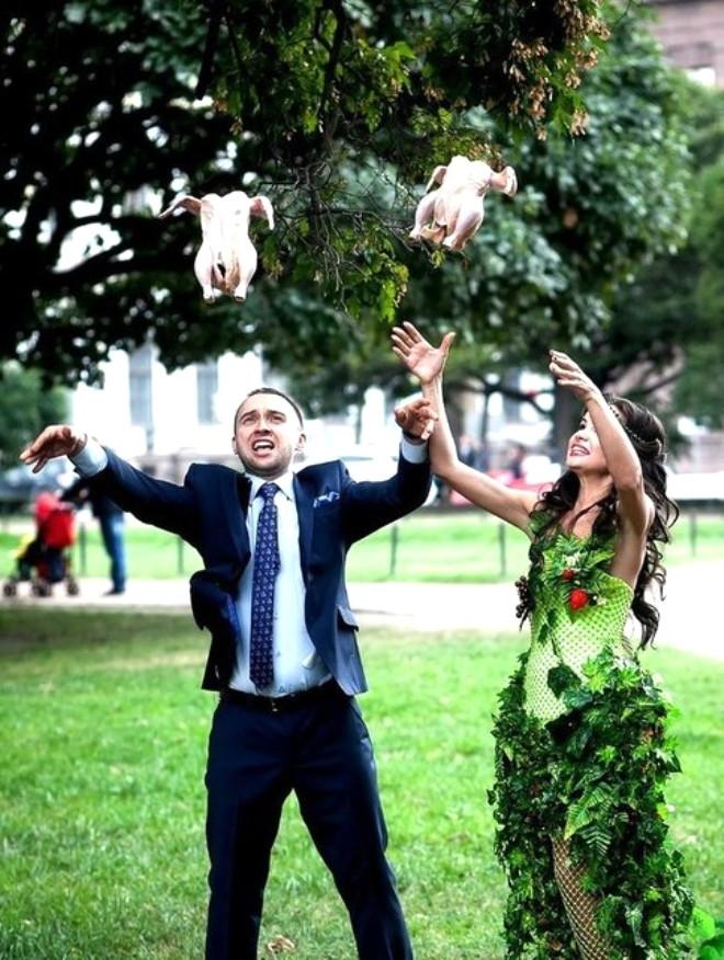 Rus düğünlerinde fotoğraf manyaklıkları galerisi resim 37