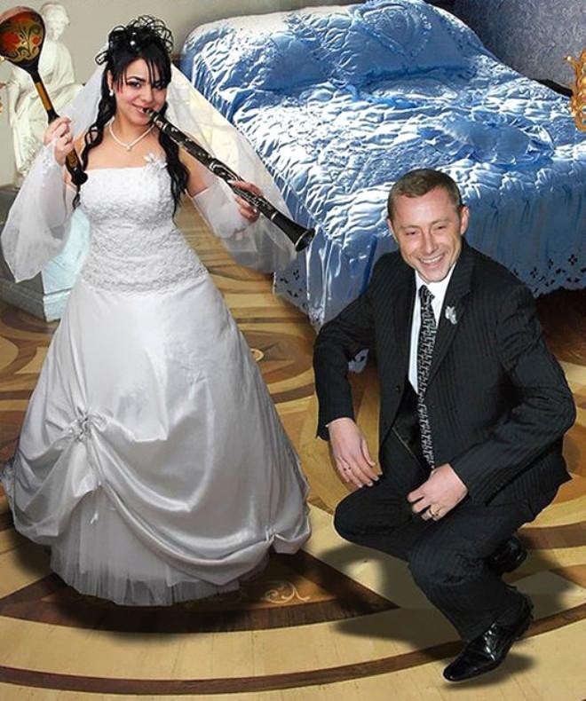 Rus düğünlerinde fotoğraf manyaklıkları galerisi resim 38
