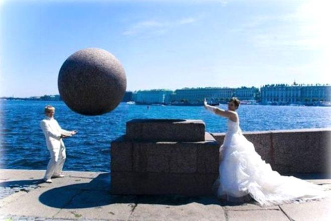 Rus düğünlerinde fotoğraf manyaklıkları galerisi resim 7