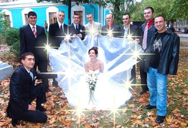 Rus düğünlerinde fotoğraf manyaklıkları galerisi resim 8