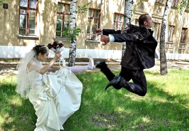 Rus düğünlerinde fotoğraf manyaklıkları galerisi resim 9